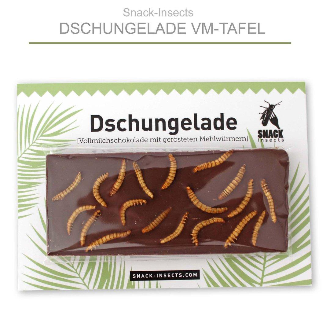 dschungelade insekten schokolade mit echten essbaren insekten. Black Bedroom Furniture Sets. Home Design Ideas