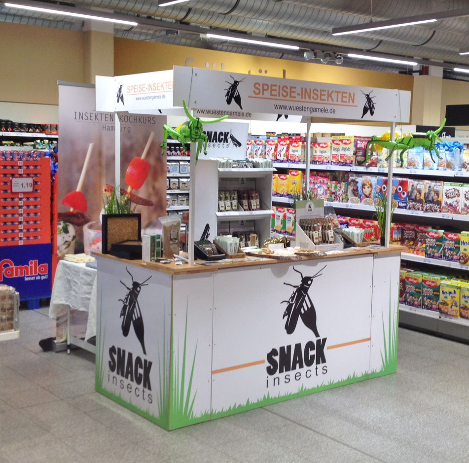 Snack-Insects_essbare_Insekten_Stand